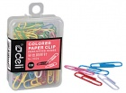 DELI Paperclips Coloured 28mm (pkt 100)