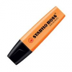 STABILO BOSS HIGHLIGHTER ORANGE BOX 10
